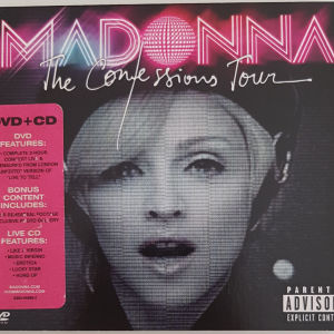 MADONNA THE CONFESSIONS TOUR CD & DVD