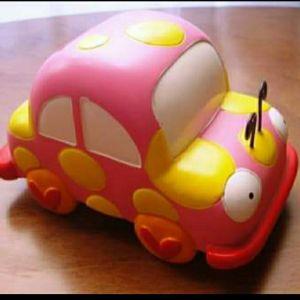 κεραμικός κουμπαράς αυτοκινητάκι