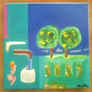 Πίνακας ζωγραφικής με ακρυλικό
