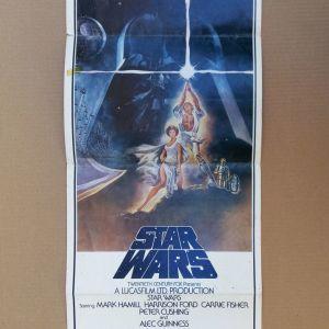 ***Σπανιότατη original Star wars 1 αφίσα, 1977 ***