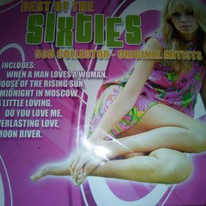 CD BEST OF THE SIXTIES