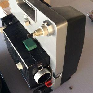 ELMO GP-E 8mm Film Projector μηχανή προβολής αντίκα