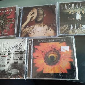 LACUNA COIL CD SET