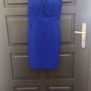 Αφορετο φόρεμα  με λεπτομέρειες δαντέλας
