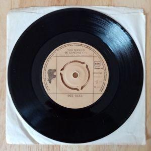 "Bee Gees - You Should Be Dancing (Vinyl, 7"", 45 RPM, Single)"