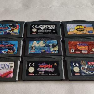 Παιχνίδια για GBA/SP/DS/DS Lite