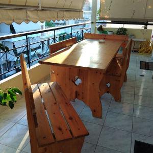 Τραπέζι ξύλινο μοναστηριακό
