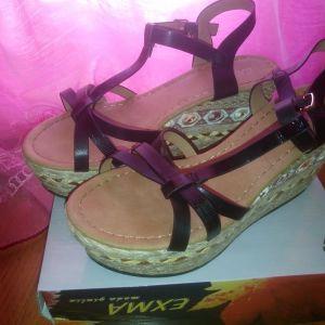 Παπούτσια γυναικεία πλατφόρμες Νο 37