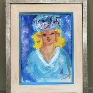 Doris Έργο Τέχνης Σε Κορνίζα