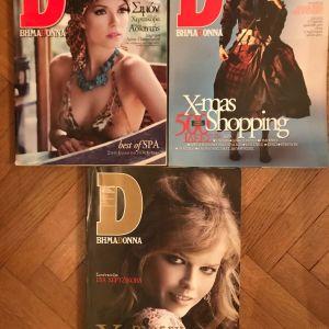 3 περιοδικά ΒΗΜΑDONNA