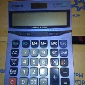 Αριθμομηχανή γραφείου Casio DF-120TER (μεσαιο μεγεθος)