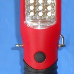 Οικονομικός φακός εργασίας 24 LED.