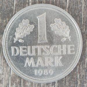 Γερμανικό νόμισμα του 1989