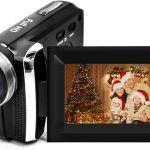 Vmotal 20 MP 1080P 2.7 Ψηφιακή βιντεοκάμερα LCD με ψηφιακό ζουμ 8 x 270  Προστατευτικό οθόνης περιστροφής
