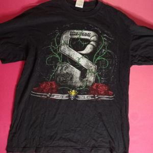 Μαύρη κοντομάνικη Scorpions μπλούζα