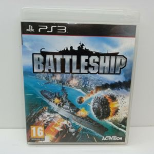 SONY PLAYSTATION 3 PS3 USED VIDEO GAME - BATTLESHIP