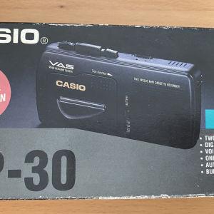 Casio Micro Casette Recorder TP-30