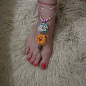 "TREND Κοσμήματα ""Barefoot"" για τα πόδια. Καινουργια."