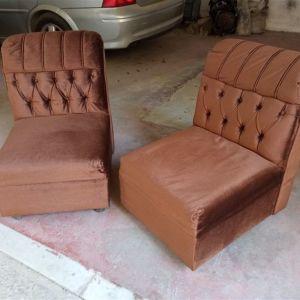 Δυο πολυθρόνες αντίκα 60s