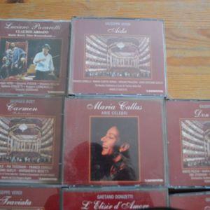 Συλλογή από CD Όπερας - 13 κομμάτια -Αμεταχείριστα