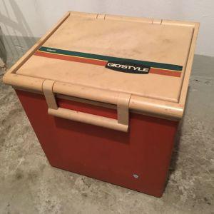 παλαιό φορητό ψυγείο gio'style safari 35 vintage retro ρετρό