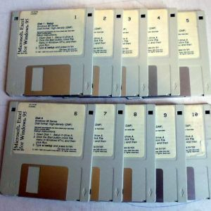 MS EXCEL for Windows 95 ΠΛΗΡΕΣ 10 ΔΙΣΚΕΤΕΣ 1.44 ΜΒ
