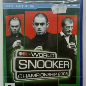 WORLD CHAMPIONSHIP SNOOKER 2005 PS2 PLAYSTATION 2 TWO VIDEO GAME PAL
