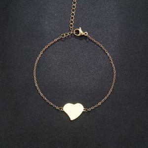 ατσαλινο βραχιολι καρδια ολοκαινουργιο