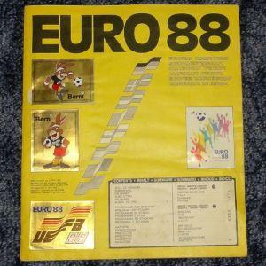 Album Panini euro '88