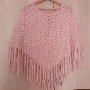 crochet scarf shovel poncho
