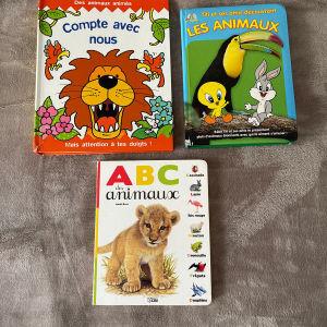παιδικα βιβλια Γαλλικών με ζώα από 3 ετων