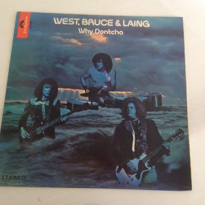 West, Bruce & Laing - Why Dontcha. Δίσκος Βινυλίου 1972 (Blues Rock, Hard Rock)