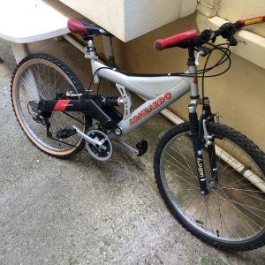Ποδηλατο Lombardo full suspension 26