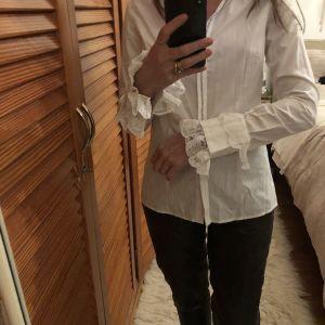 Λευκό μεσάτο πουκάμισο Rococo / White shirt