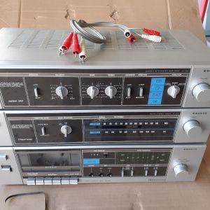 Ενυσχιτης,ραδιο,κασετοφωνο sanyo