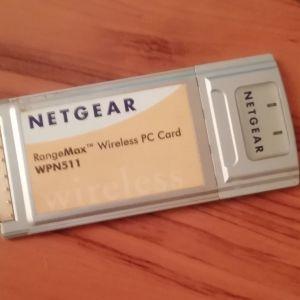 Κάρτα Δικτύου laptop - Netgear Rangemax WPN511 (PCMCIA θύρα)