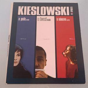 Kieslowski τρία χρώματα 3 dvd