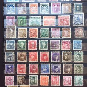 Αλμπουμ συλλογη γραμματοσημων Τσεχοσλοβακιας