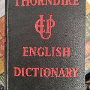 Thorndike english dictionary 1949