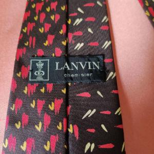 Vintage Lanvin γραβάτα.