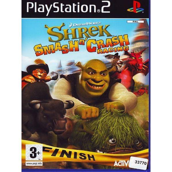 SHREK SMASH CRASH RACING - PS2