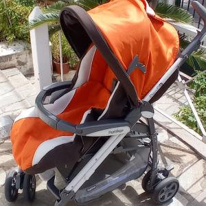 Πωλούνται παιδικό καρότσι PegPerego Pliko3 , κάθισμα αυτοκινήτου με βάση PegPerego ,κάθισμα αυτοκινήτου 6-36 kg RECARO.Ολα σε πολύ καλή κατάσταση.