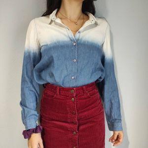 attrattivo δίχρωμο πουκάμισο