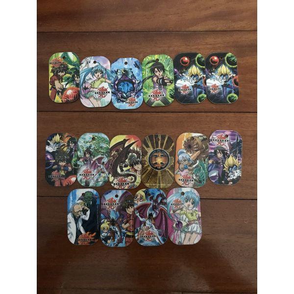 tapes Bakugan/Transformers