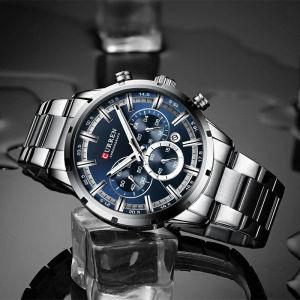 Ρολόι με Μεταλλικό Μπρασελέ CURREN H-221