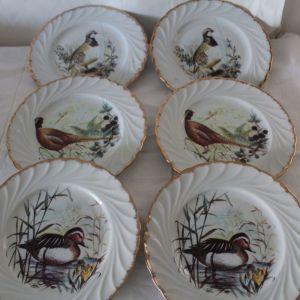 Πιατάκια γλυκού πορσελάνη Limoges (συλλεκτικά)