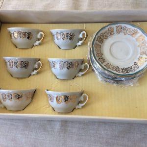 Σετ φλιτζάνια καφέ. Titov - 1970s