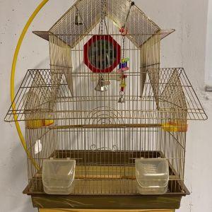 Πωλούνται κλουβιά πουλιών με βάση