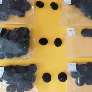 Κουμπιά μαύρα