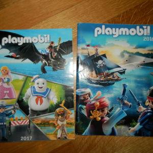 2 καταλογοι playmobil (2016 & 2017)
